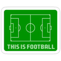 This Is Football Sticker