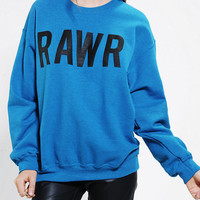 Rawr Pullover Sweatshirt - Urban Outfitters