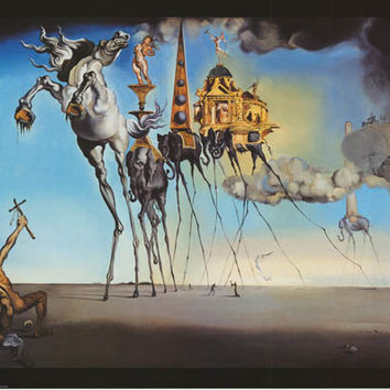 Salvador Dali Temptation of St Anthony Poster 24x36