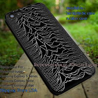 Joy Division Unknown Pleasures iPhone 6s 6 6s+ 5c 5s Cases Samsung Galaxy s5 s6 Edge+ NOTE 5 4 3 #music #jd dt