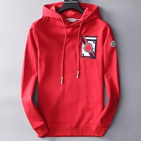Boys & Men Moncler Casual Edgy Pattern Sweater Hooded
