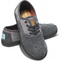 Multi Houndstooth Youth Cordones