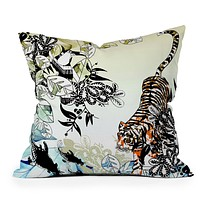 Aimee St Hill Tiger Tiger Throw Pillow