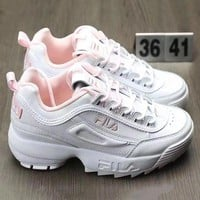 FILA Trending Fashion Running Sport Shoes Sneakers For Women G