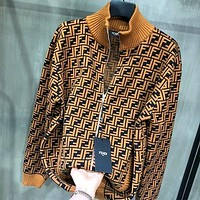 Fendi autumn and winter new double F letter casual baseball jacket