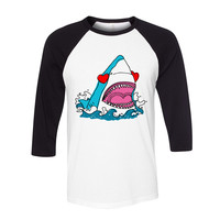 Love Shark Baseball Tee