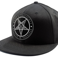 Believe In Yourself - Snapback Hat | Black Craft