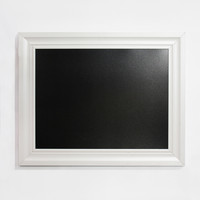 """Linon 24""""x30"""" Chalkboard with White Frame"""