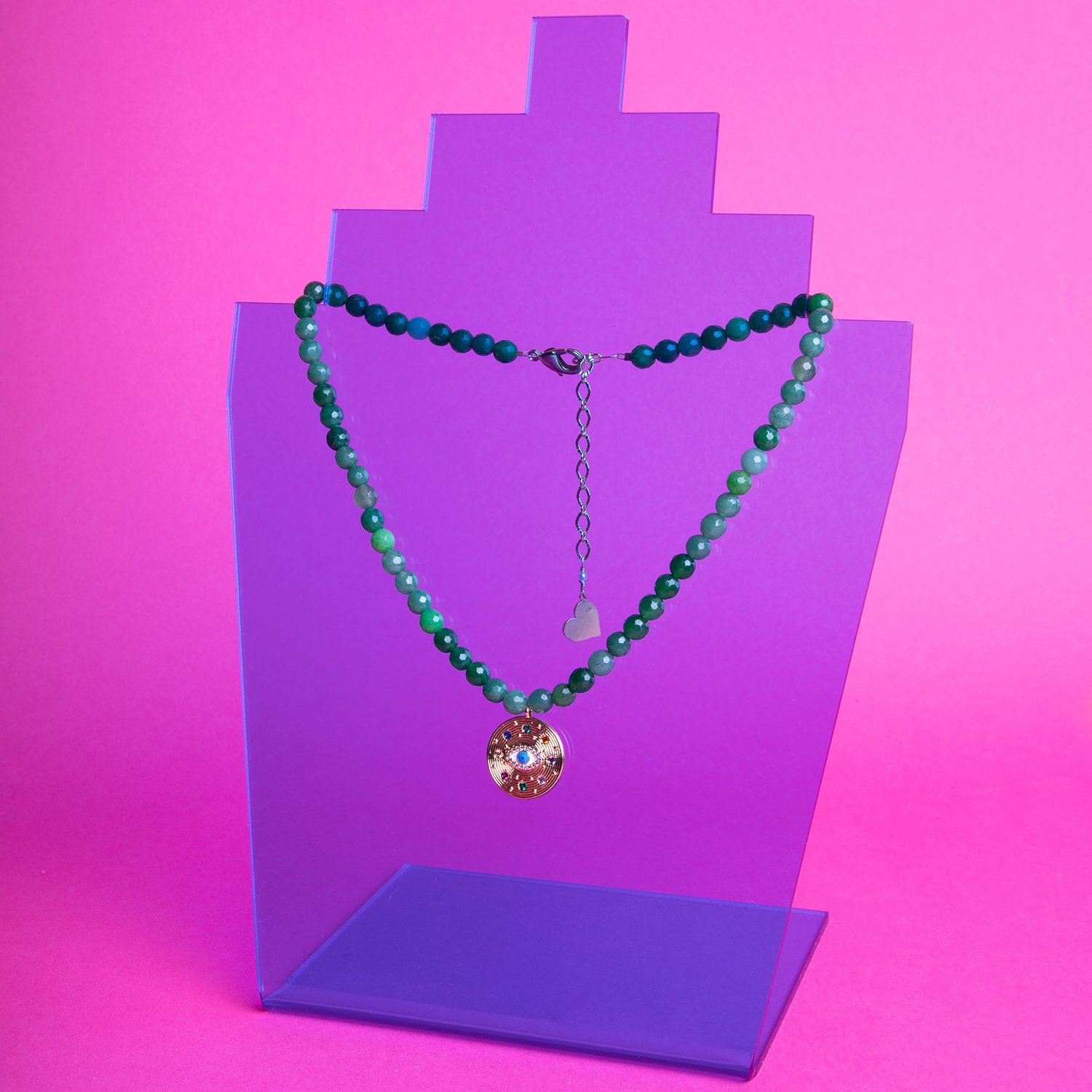 Image of Jade Eyes on Me Necklace