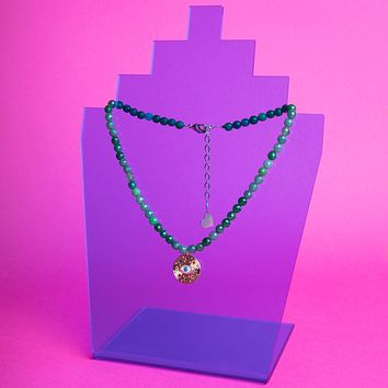 Jade Eyes on Me Necklace