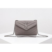 Fashion YSL Women Leather monnogam Handbag Crossbody bags Shouldbag Bumbag