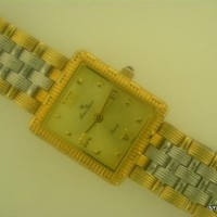 Brand New Gold & Silver Tone Lucien Piccard Wrist Watch Free Shipping