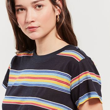 UO The Little Brother Striped Tee   Urban Outfitters