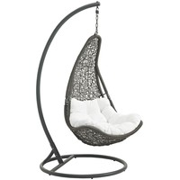 Abate Outdoor Hanging Patio Swing Chair With Stand