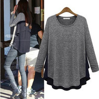 Fashion Spring Women Long Sleeve a13106