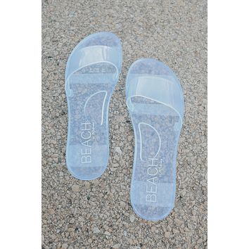 Haven Sandals - Clear