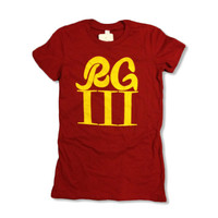 RG3 Redskins Women's Shirt - All Sizes Available