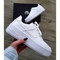 Nike Air Force One 1 Low All White Sneaker