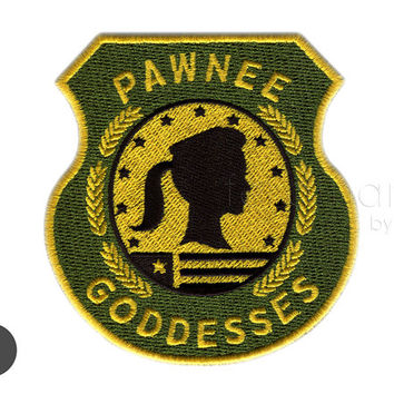 Pawnee Goddesses Badge Iron On Patch