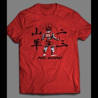 DRAGON BALL Z AIR GOKU ART MICHAEL JORDAN'S T-SHIRT