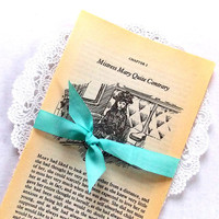 The Secret Garden Vintage Book Pages / Junk Journal / 5 Pages / Old book Pages