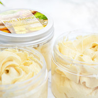 Honey Body Butter - Beauty Favors - Honey Bee - Christmas Presents For Her - Bee Themed Baby Shower Gift - Birthday Gift For Best Friend