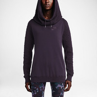 The Nike Quilted Rally Women's Hoodie.