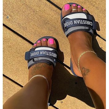 DIOR Fashion Casual Slides