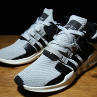 "Fashion ""Adidas"" Equipment EQT Support ADV Grey Black Casual Sports Shoes"