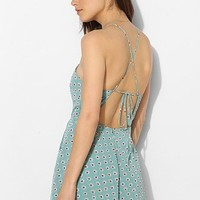 Lucca Couture High Square-Neck Chiffon Romper - Urban Outfitters