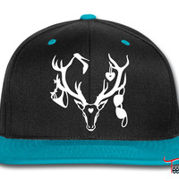 18 deer bachelor party fun funny love stag nigh Snapback