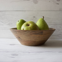 Vintage Decorative Wood Fruit Bowl | DID Ware Wooden Ware | Heirloom Quality