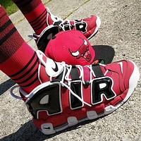 Nike Air More Uptempo men and women Gym shoes-1