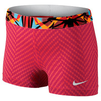 Women's Nike Pro Core Compression 3 Inch Zig Zag Shorts