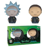 Dorbz: Rick and Morty - Police Rick and Morty (2-pack) (Specialty Series)