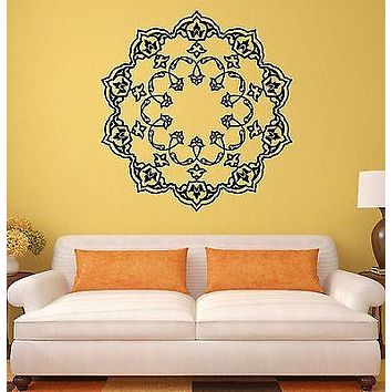 Wall Stickers Mandala Buddhism Mascot Amulet Art Mural Vinyl Decal Unique Gift (ig1991)