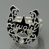 Cowgirl Stretchy Ring