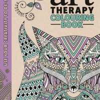 The Art Therapy Colouring Book (Art Therapy Series)