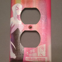 Comic Book superhero outlet cover Spider Gwen