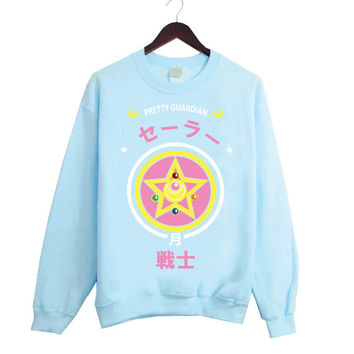Sailor Moon Prism Fashion Sweater inspired by Japanese Anime Sailor Moon! 2 Colors Available!