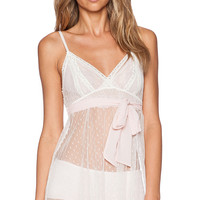 Only Hearts Coucou Chemise Night Slip in White