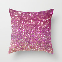 Triple Berry Rush Throw Pillow by Lisa Argyropoulos