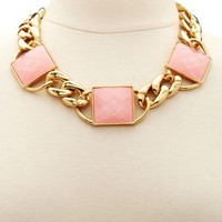 Oversized Chain Statement Necklace: Charlotte Russe