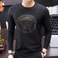 Versace New high fashion casual lapel T-shirt