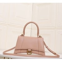 Balenciaga Newest Popular Women Leather Handbag Tote Crossbody Shoulder Bag Satchel