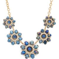 Gretchen Floral Collar Necklace