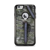 The Nailed Mossy Wooden Planks Apple iPhone 6 Plus Otterbox Commuter Case Skin Set