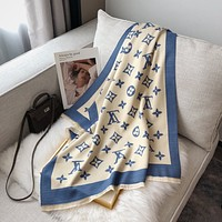 Louis Vuitton Vintage Cashmere Lv Fashion Letter Jacquard Ladies Scarf