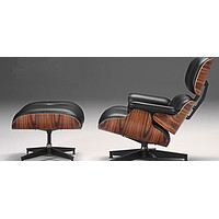 Bestest High Quality Bright Leather Leisure Chair & Ottoman