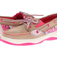 Sperry Top-Sider Kids Butterflyfish (Little Kid/Big Kid) Silver Cloud/Pink Leopard - Zappos.com Free Shipping BOTH Ways